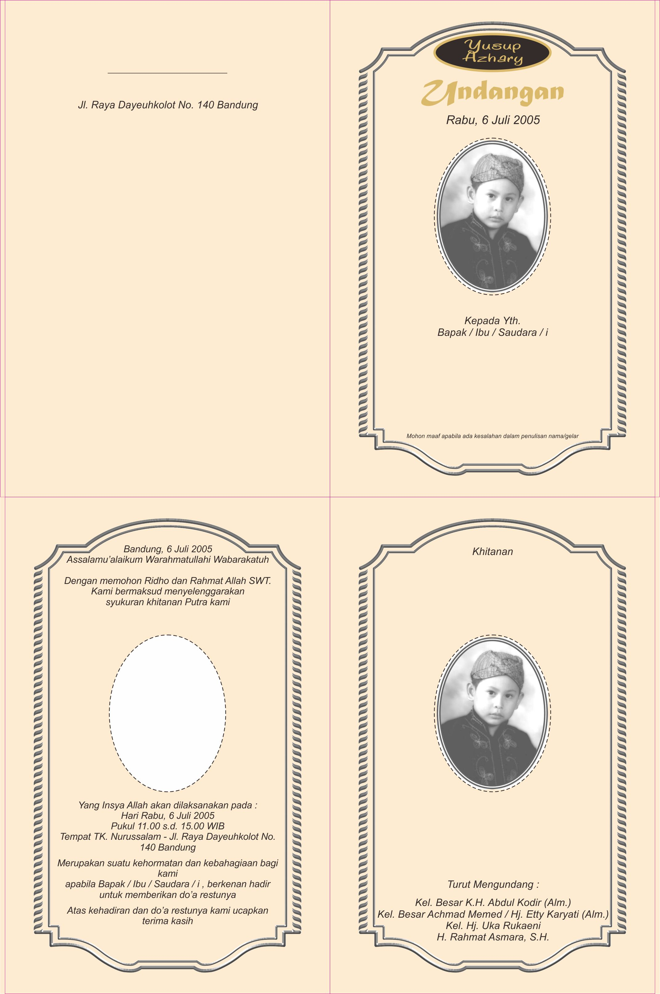 Desain Undangan Khitanan – rineoprinting